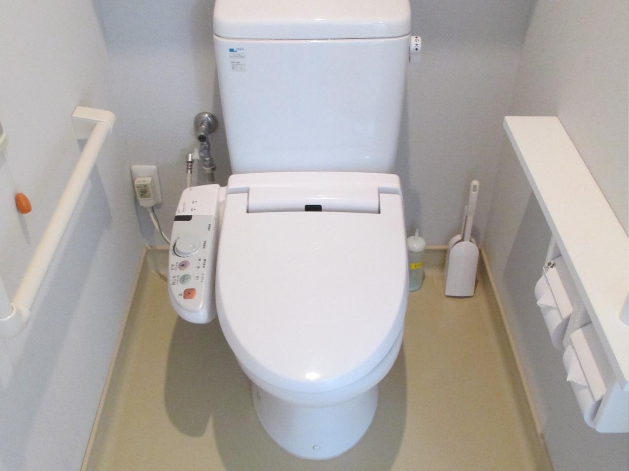排泄(全室ウォシュレットトイレ)